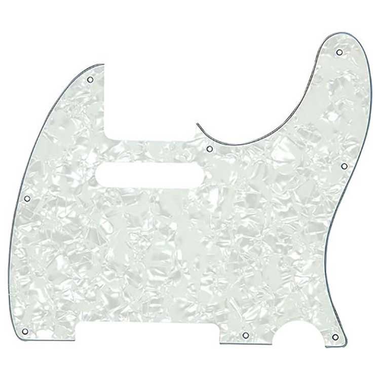 Proline US Telecaster Pick Guard (White Pearloid) - PF5905USW