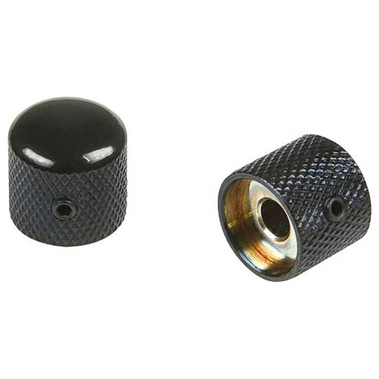 Proline Metal Dome Control Knob (Black - 2 Pack) - PL906B