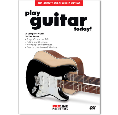 Play Guitar Today DVD - HL00320384