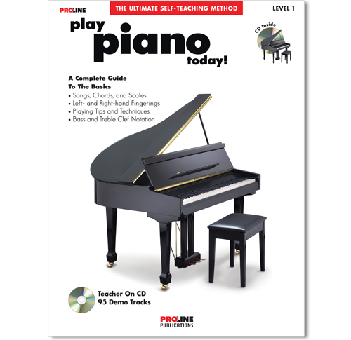 Play Piano Today Book w/CD - HL00699542