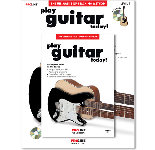 Play Guitar Today Book with CD and DVD - HL00699607