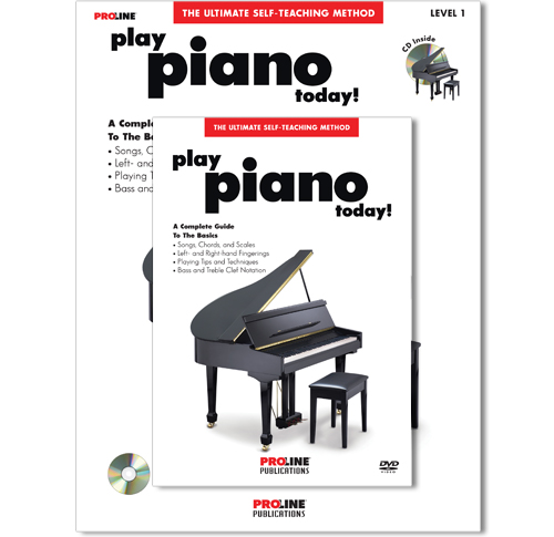 Play Piano Today Book w/CD and DVD - HL00699608