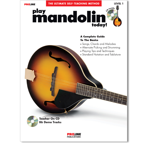Play Mandolin Today Book w/CD - HL00702589
