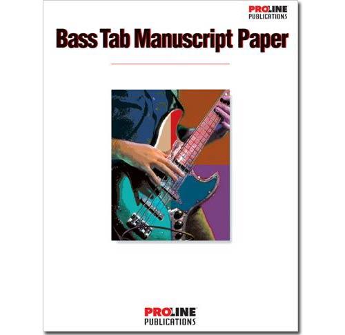 Bass Tab Manuscript Paper - HLP210089