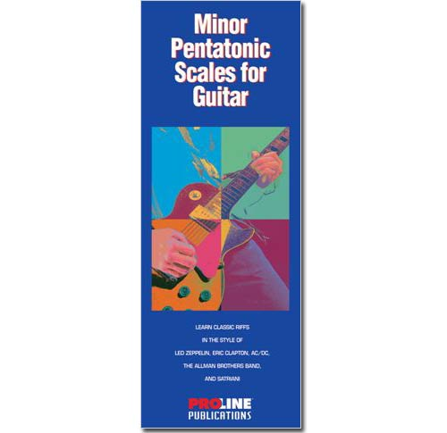 Minor Pentatonic Scales for Guitars - HLP695424
