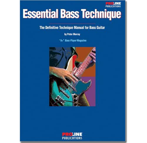 Essential Bass Technique Book - HLP695709