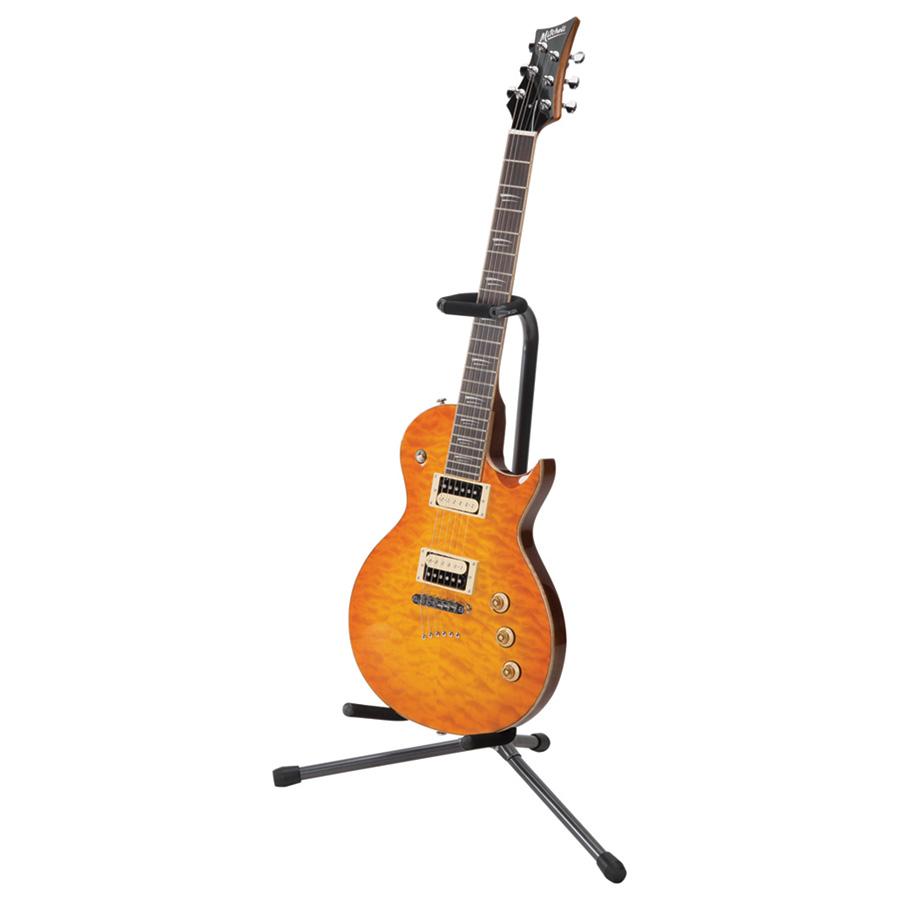 proline ht1050 securi t tripod stand with locking yoke guitar stands. Black Bedroom Furniture Sets. Home Design Ideas