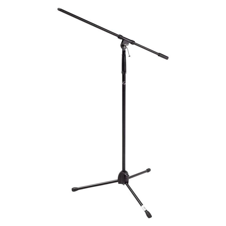 Black Tripod Boom Mic Stand - MS220