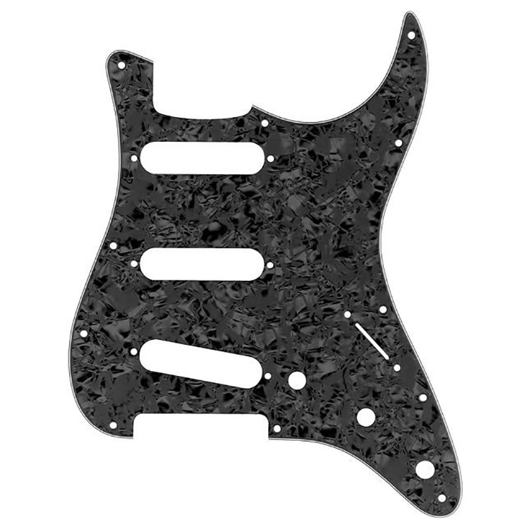 Proline US Strat® Pick Guard SSS (Black Pearloid) - PF5903USB