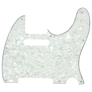 Proline US Telecaster Pick Guard (White Pearloid) PF5905USW