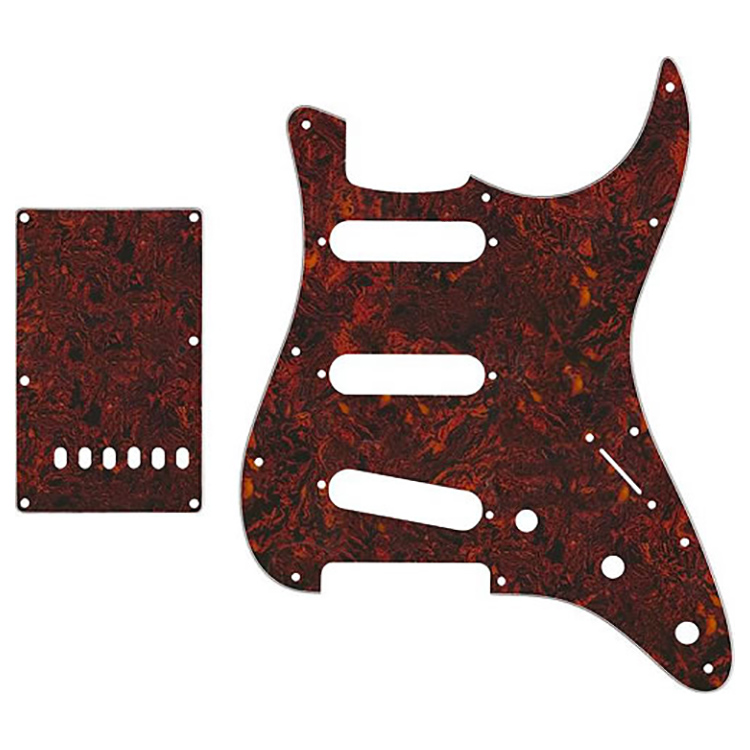 Proline US Strat Pick Guard SSS w/Back Plate (Tortoise Shell) - PFS5303US