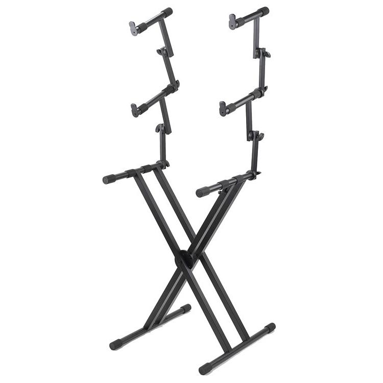 Proline 3-Tier Double X-Braced Keyboard Stand - PL403
