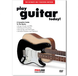 Proline Play Guitar Today Book w/CD HL006996071
