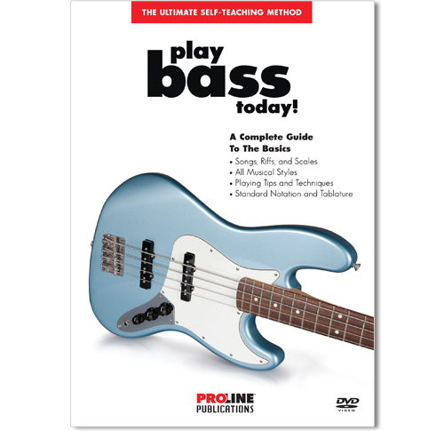 Play Bass Today DVD - HL00320386