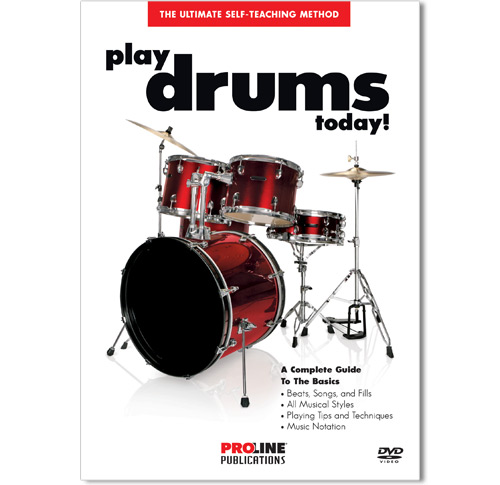 Play Drums Today Book w/CD and DVD - HL00699610