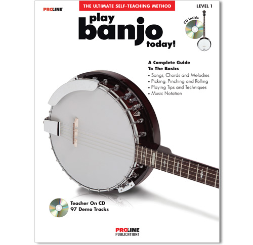 Play Banjo Today Book w/CD - HL00321256
