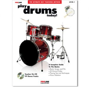 Proline Play Drums Today Book w/CD HL00699525