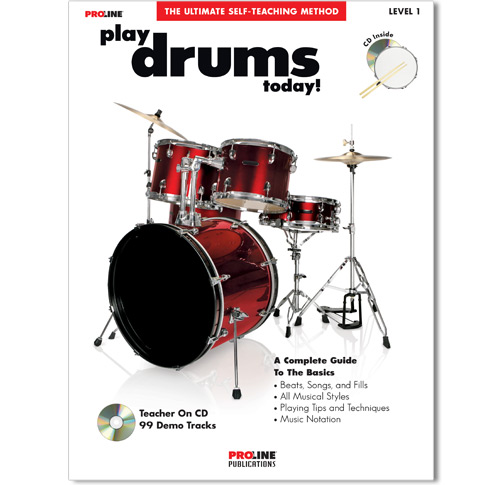 Play Drums Today Book w/CD - HL00699525