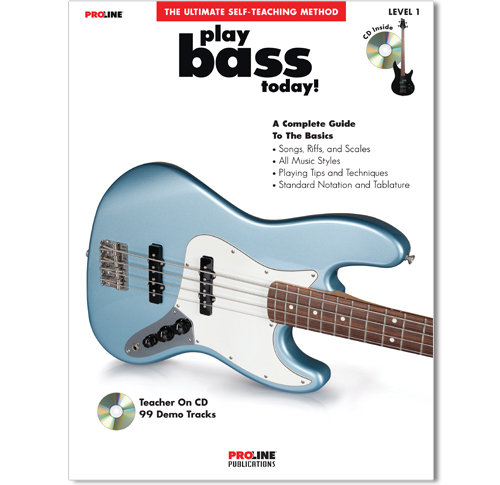 Play Bass Today Book with CD - HL00699606