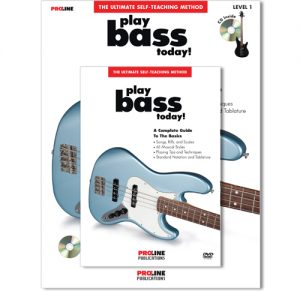 Proline Play Bass Today Book with CD and DVD HL00699609