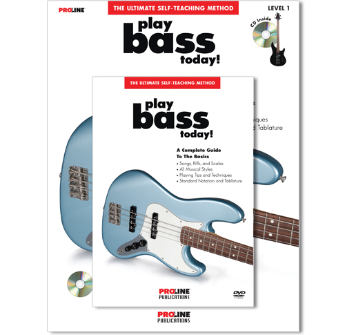 Play Bass Today Book with CD and DVD - HL00699609