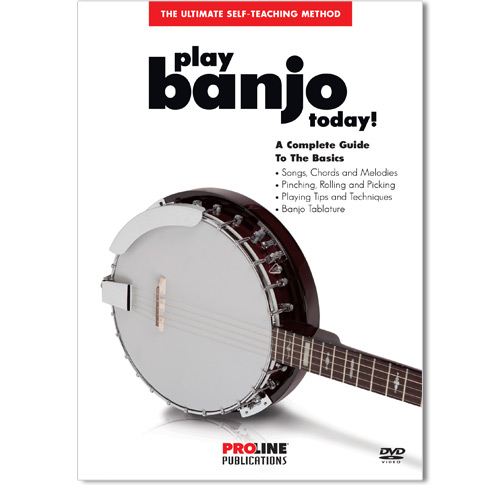 Play Banjo Today DVD - HL00702588