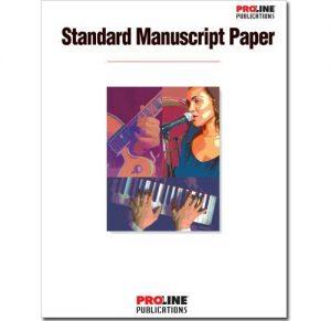 Proline Standard Manuscript Paper HLP210087