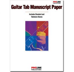 Proline Guitar Tab Manuscript Paper HLP210088