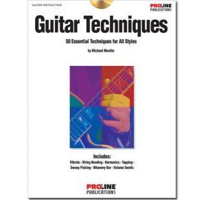 Proline Simply Guitar Techniques w/CD HLP695600
