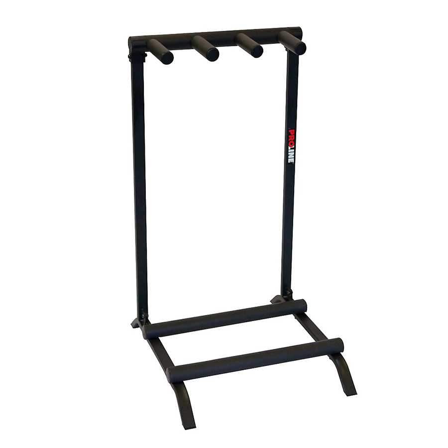 3 Guitar Folding Stand Black - PLMS3
