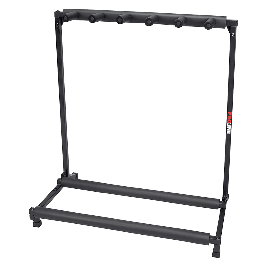 5-Guitar Folding Stand Black - PLMS5