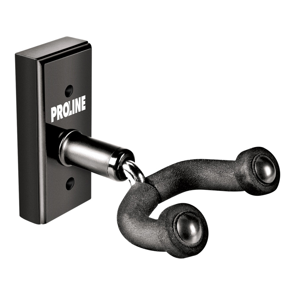 Proline Black Guitar Wall Hanger - GH1BK